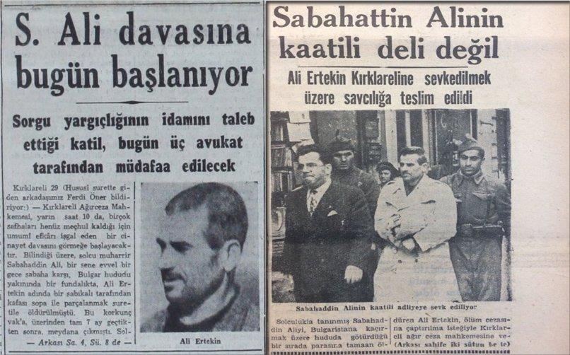 Sabahattin Ali'nin Faili Meçhul Ölümü