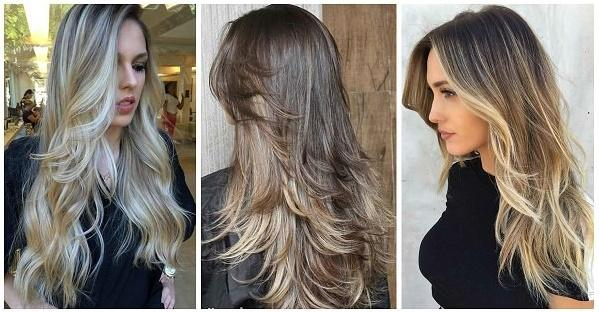 2019 uzun saç modelleri