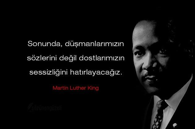 Martin Luther King Sözleri