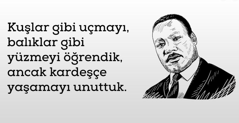 Martin Luther King Sözleri