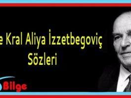 Aliya İzzetbegoviç Sözleri
