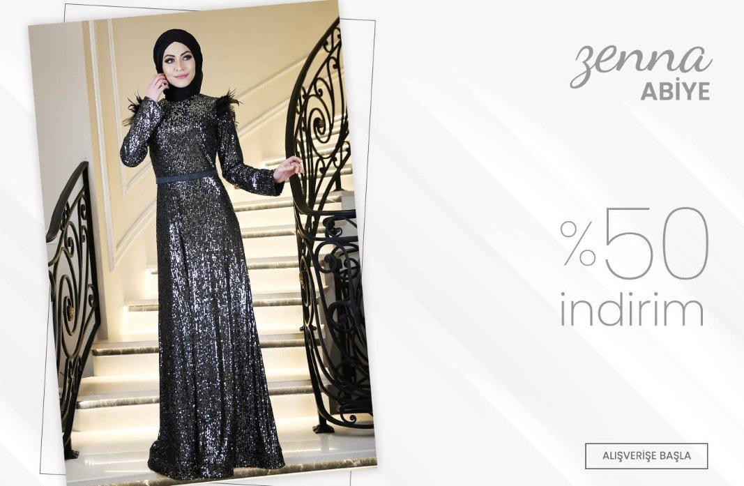 Almanya'dan elbise siparişi Minel Aşk