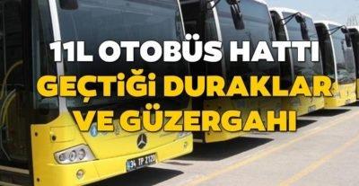 11L Bulgurlu Mahallesi Üsküdar Otobüs Saatleri