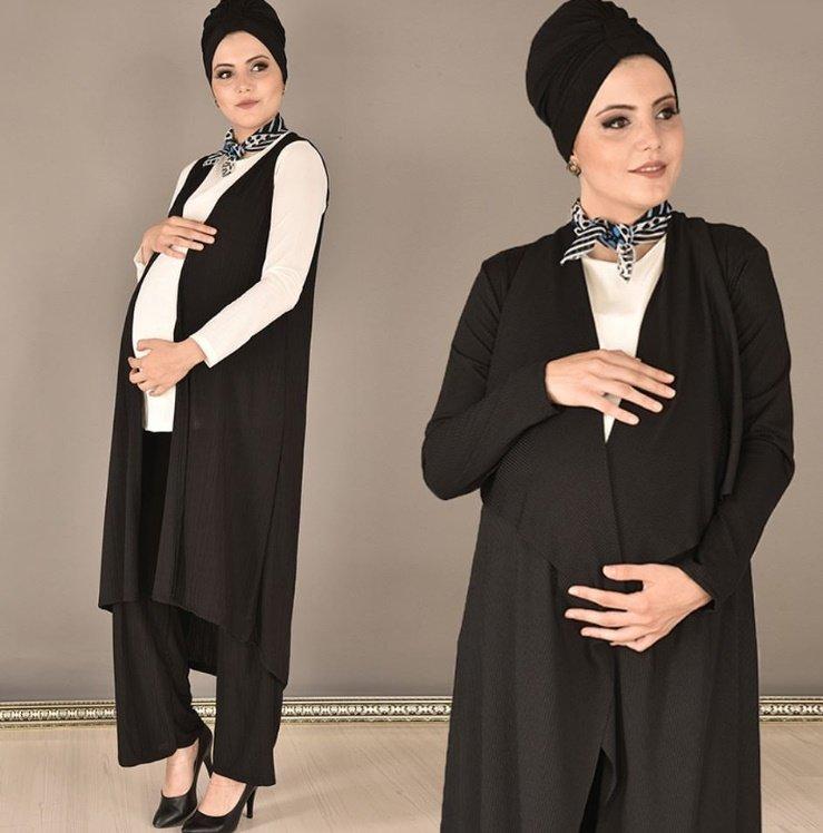 2019/2020 tesettür hamile kıyafetleri
