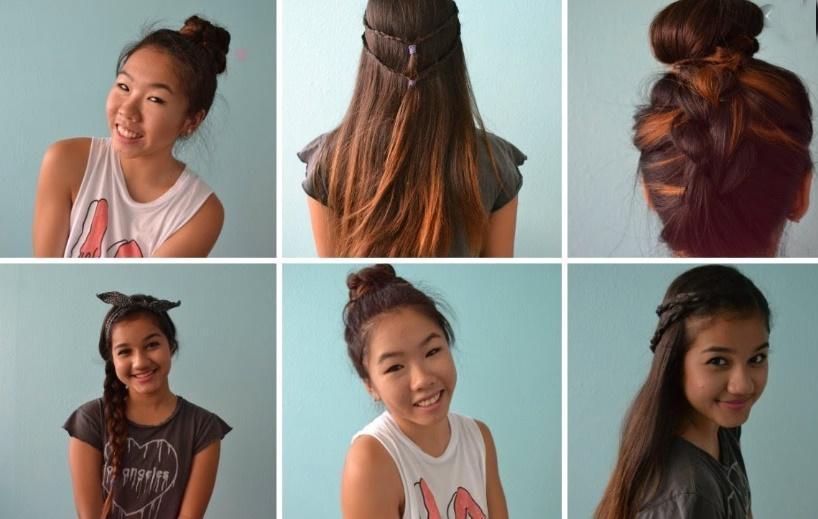 Hem pratik hem de güzel kolay 5 okul saç modeli