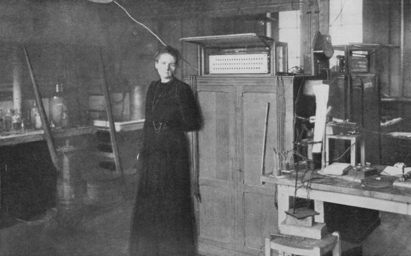 Marie Curie'nin Çalışmaları