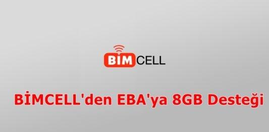 BİMCELL'den Eba'ya destek