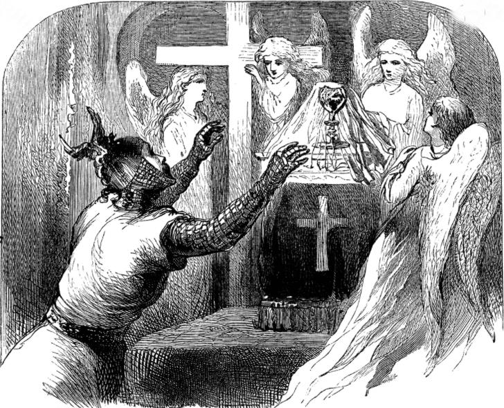 Kutsal Kâse ile Birlikte Kaybolan Papaz