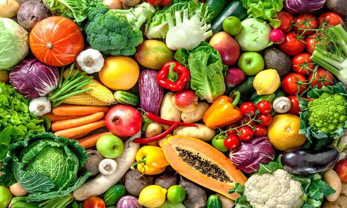 meyve ve sebze tüketmek