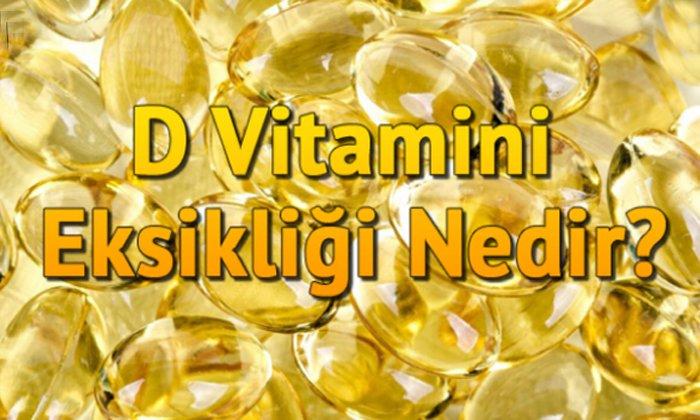 D vitamini eksikliği nedir