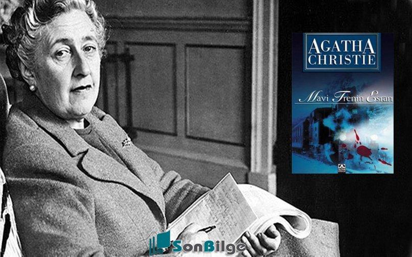 Agatha christie mavi trenin esrarı polisiye roman