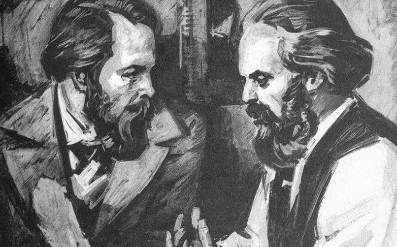 Karl Marx'ın Friend Engels İle Dostluğu