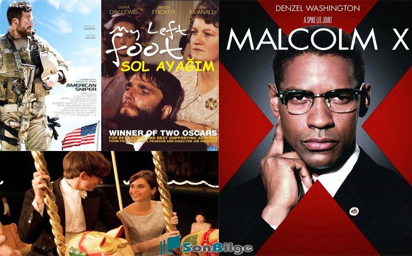 Gelmiş geçmiş en iyi biyografi filmleri