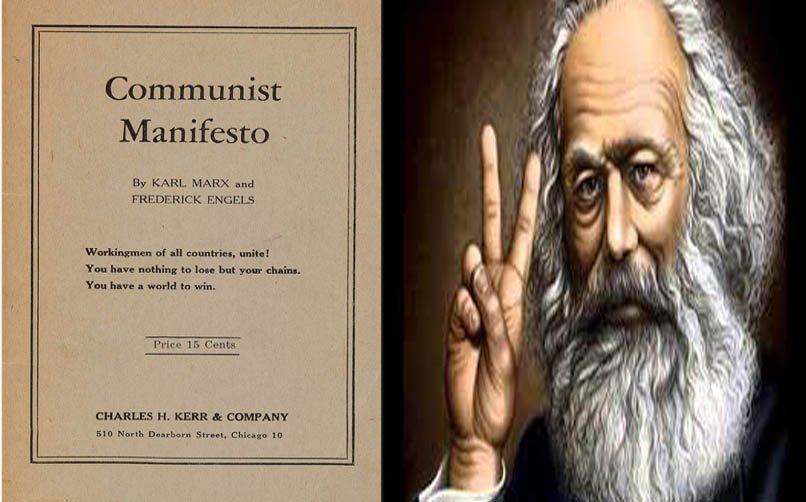 "Karl Marx'ın ""Komünist Manifesto"" Eseri"
