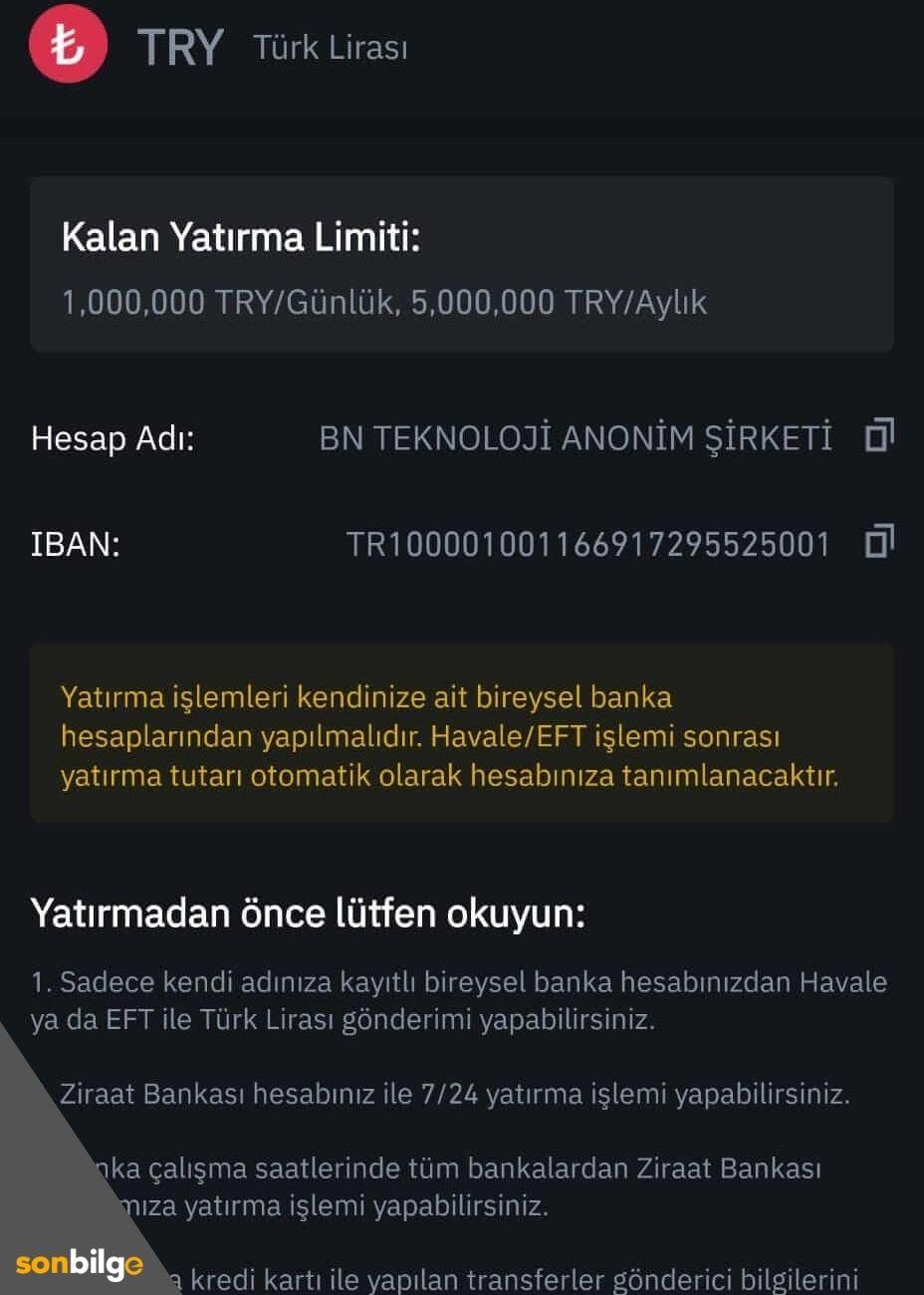 Banka hesap bilgileri ve IBAN numarası