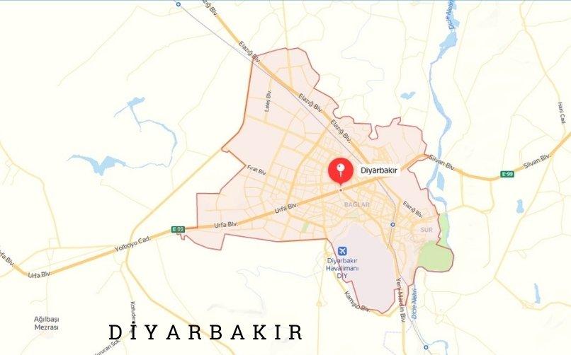 Diyarbakır'a Nasıl Gidilir?