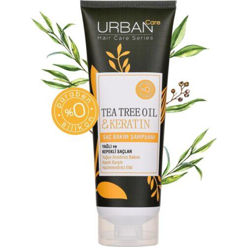 Urban Care Çay Ağacı Yağı Ve Keratin Saç Bakım Şampuanı