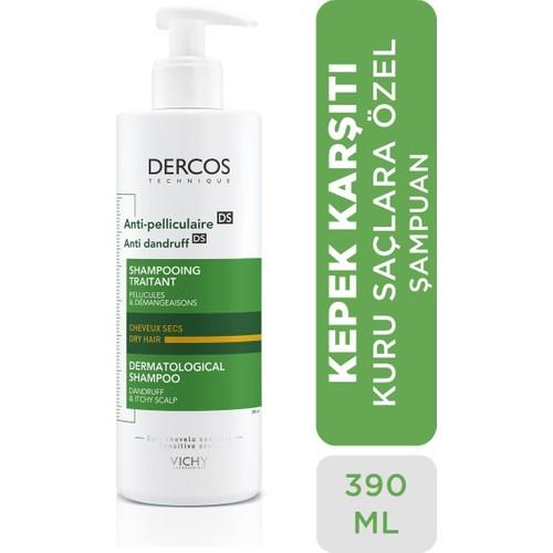 Vichy Dercos Anti Pelliculaire - Kuru ve Kepekli Saçlar için Şampuan