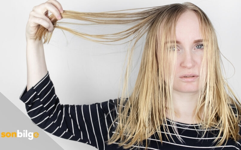 Yağlanmaya Meyilli Saçlar