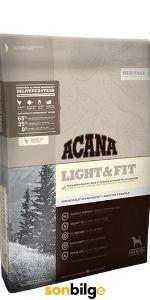 Acana Light-Fit Tahılsız Tavuk ve Balıklı Diyet Köpek Maması