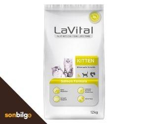 LaVital Kitten Somonlu Yavru Kedi Maması